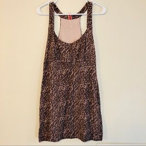 FREE PEOPLE Cheetah print cocktail dress